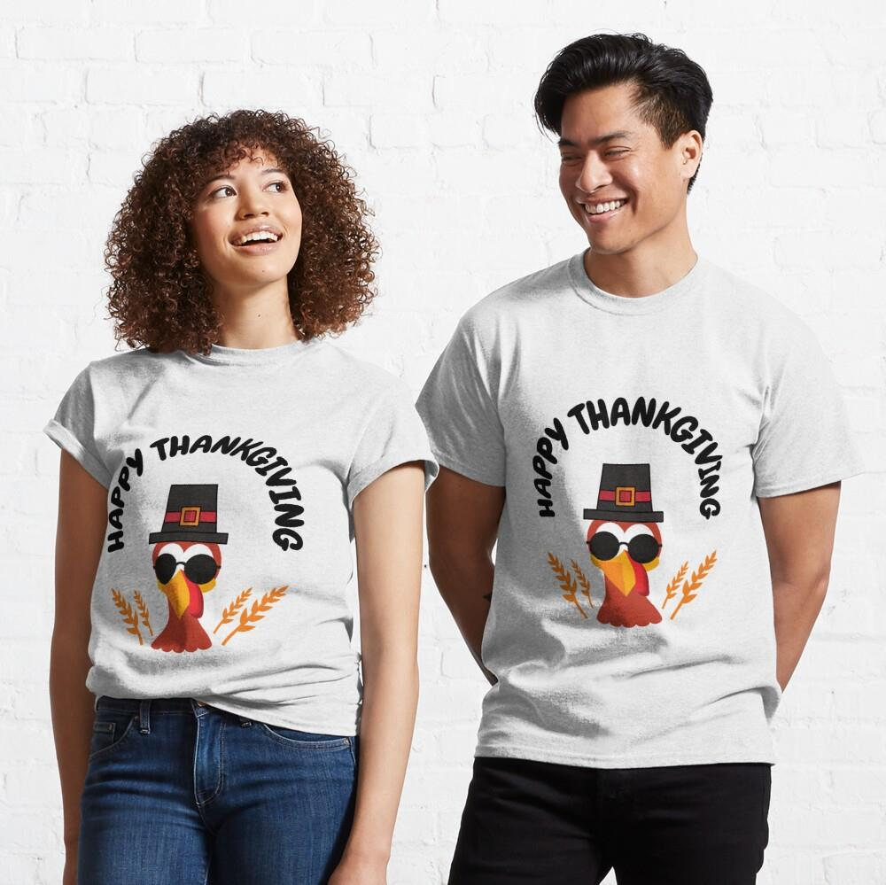 Cool Turkey for Happy Thankgiving 2020 Classic Shirt