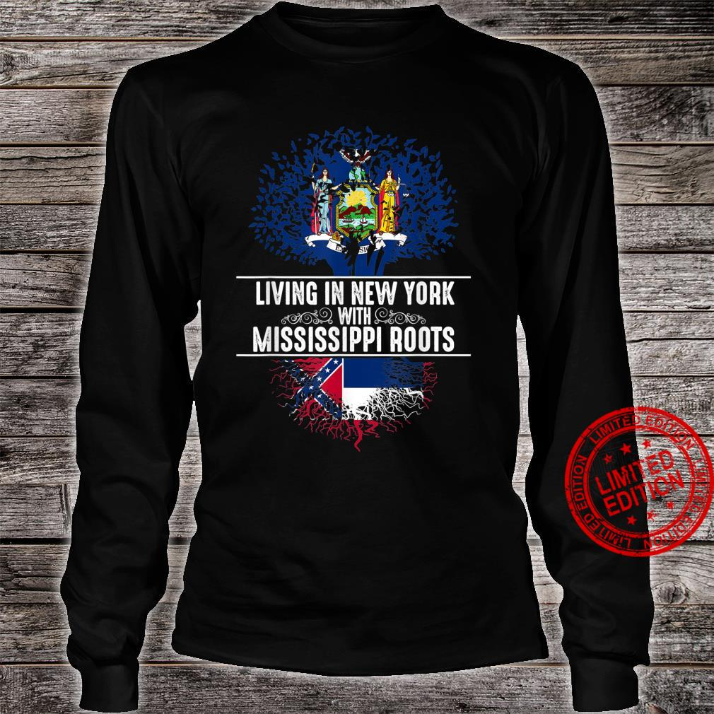 New York Home Mississippi Roots State Tree Flag Shirt long sleeved