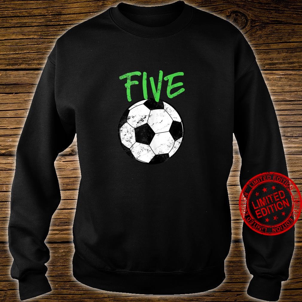 Soccer 5 Years Old Soccer Design Shirt sweater